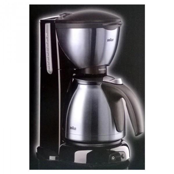 Marsmedia haushaltsgeräte kaffeemaschinen braun kf 610